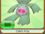 Cami's Frog