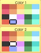 Pet pony colors