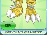 Diamond Encrusted Gauntlets