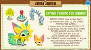 Jamaa-Journal Spring Fennec Fox Bundle