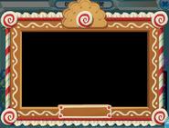 Gingerbread frame