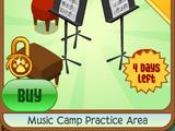 Music Camp Practice Area