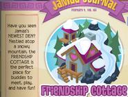 Friendship Cottage Jamaa Journal
