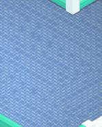 Beach-House Blue-Shag-Carpet