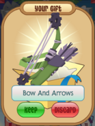 Green Bow And Arrows