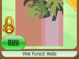 Pink Forest Walls