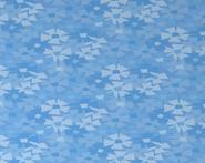 Spring-Cottage Blue-Shag-Carpet