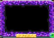 Masterpiece Purple-Pixel-Frame