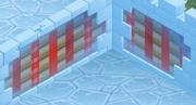 Snow-Fort Dust-Striped-Walls