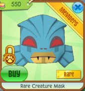 Rare-creature-mask