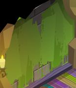 Pecks-Den Green-Slime-Walls