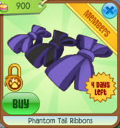 Phantom-tail-ribbons