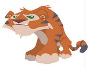 AJ Tiger art plain