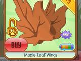 Maple Leaf Wings