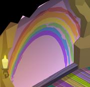 Pecks-Den Rainbow-Walls