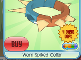 Worn Spiked Collar