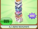 AJ Alpha Monument