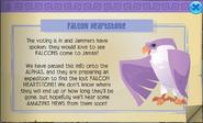Falcon come to jamaa heartstone animal jam