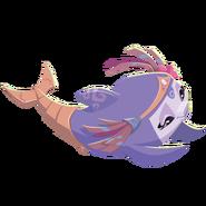 Tavie swimming artwork