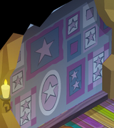 Pecks-Den Blue-Star-Walls