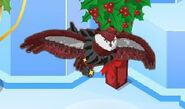 Great Horned Owl Sparkly Boa glitch