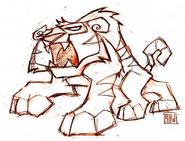 Tiger concept art