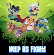 "Alphas""Help Us Fight""-DailyExplorer"