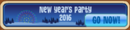New Year's Party 2016 Banner