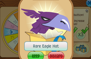 Daily-Spin-Gift Rare-Eagle-Hat