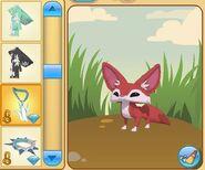 Fennec Fox Ice Amulet missing
