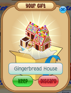 Gingerbread House gift