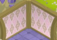 Fantasy-Castle Pink-Argyle-Walls