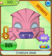 Creature Mask pink
