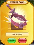 Pirate Sword Pink - Return Of The Phantoms