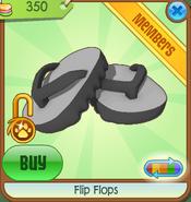 Flip Flops black