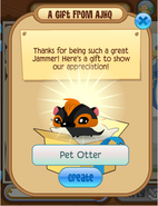 Gift from AJHQ Otter