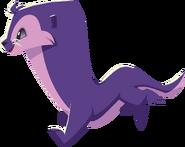Purple otter