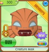 Creature Mask orange