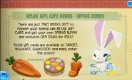 Spring bunny jamaaa journal