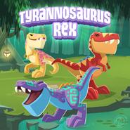 April Fools Tyrannosaurus Rex Official Artwork - The Daily Explorer
