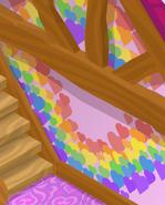 Friendship-Cottage Rainbow-Pink