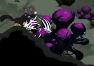 Bone claws damage