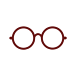 Glasses round maroon-resources.assets-2542.png