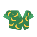 Clothes shirt banana.png