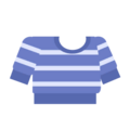 Clothes sweater striped blue.png