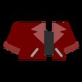 Clothes jacket maroon.png
