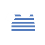 Clothes tshirt striped blue.png