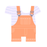 Clothes overall pastel orange.png