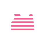 Clothes tshirt striped pink.png