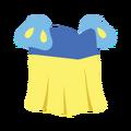 Clothes princess yellow.png